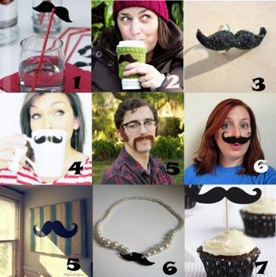 Link Love: Mustache Crafts