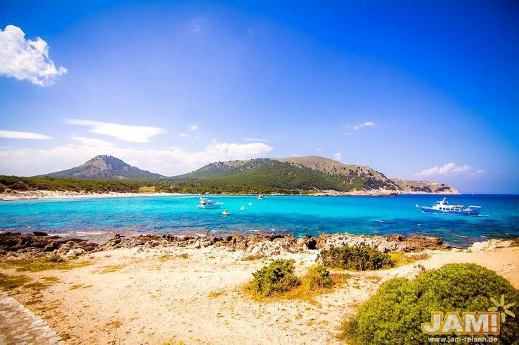 Abifahrt- Mallorca-Cala-Ratjada-Landschaft-Strand-Bucht