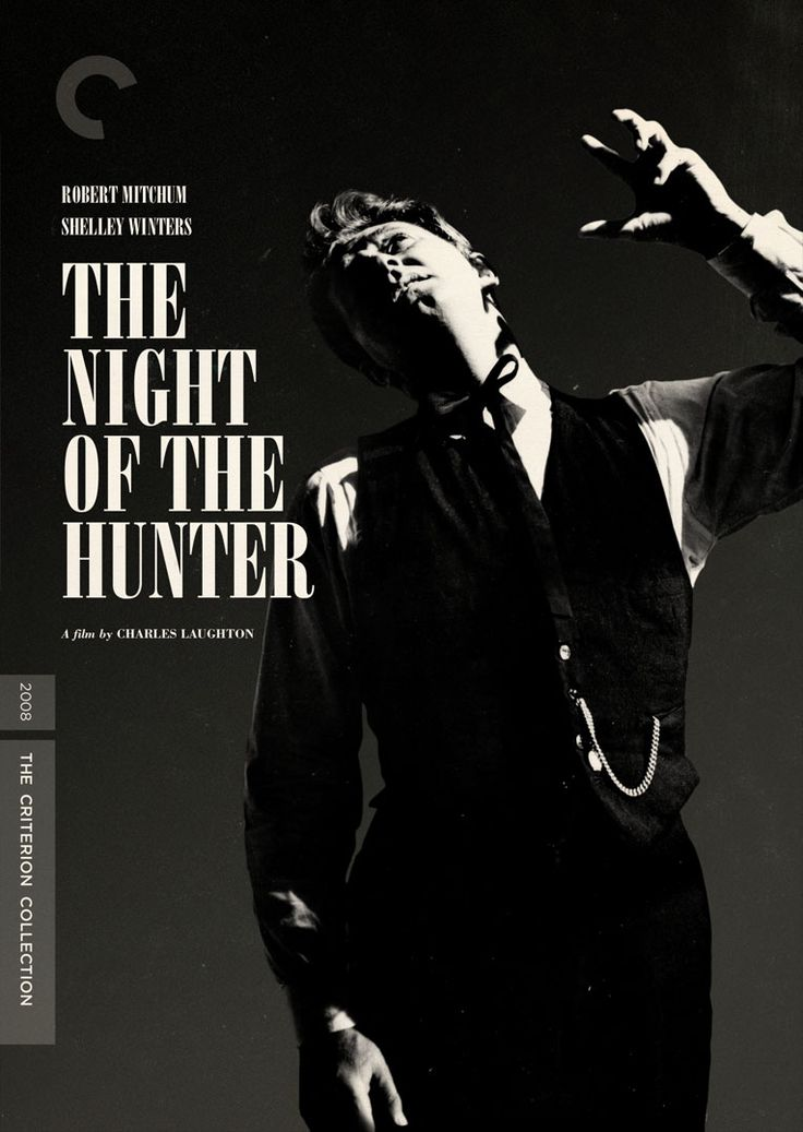 NIGHT OF THE HUNTER, 1955. Directed by Charles Laughton, starring Robert Mitchum. Click through for Telegraph article on the restoration release.