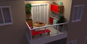Como transformar uma varanda simples em varanda gourmet
