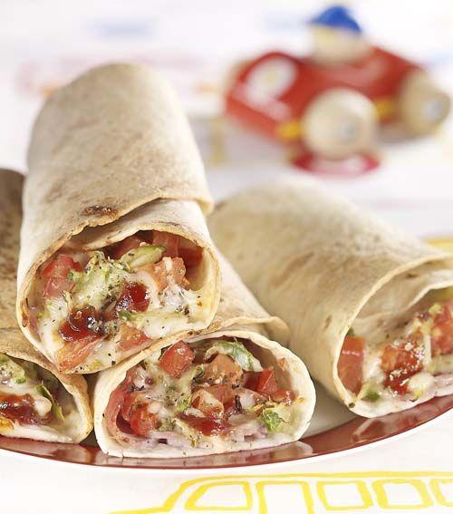Warme wrap mozzaham | Colruyt