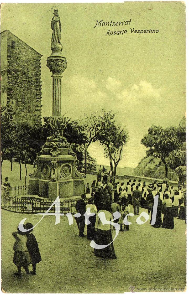 17 best images about coleccion postales antiguas on - Calle montserrat barcelona ...