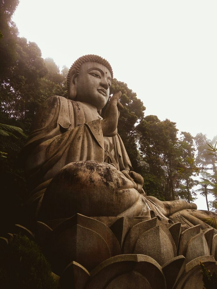 Buddha statue at the Chin Swee Temple, Genting Highlands