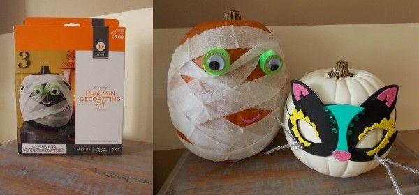 Target Pumpkin Decorating Kits | TOO SCOOPS KIDS