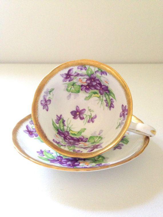 English Bone China Royal Chelsea Tea Cup and Saucer Tea Soiree Wedding Gift Inspiration