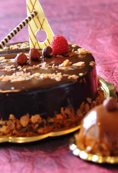 Cake of the Month  1-31 March 2014 | La Patisserie Truffle Cake  Love Chocolate?  Then this soft and luxurious layer cake is for you. Its ganache glaze and fabulous bittersweet filling will melt in your palate.  Ask our La Patisserie team for more treats and delicious temptations. An extensive selection of cakes and chocolates is available for the 'gourmands'!  More Info: http://deals.sheraton.com/Sheraton-Surabaya-Hotel-164/dining-offers?ES=SM_PINTEREST_SI_164_DINING_SOP_EN_SEA_AP