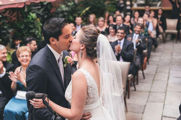 Wedding Photographers - Toronto Wedding Studios, 588 Eastern Ave, Toronto, ON, Canada, TEL(416)993-8995 | Tijana and Chris | Intimate Wedding | George Restaurant On Queen | http://www.torontoweddingstudios.com