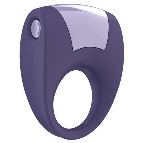 OVO Vibrating Cock Ring, Fully integrated vibrator - rounded for comfortable use! Available at www.simplysexshop.co.uk