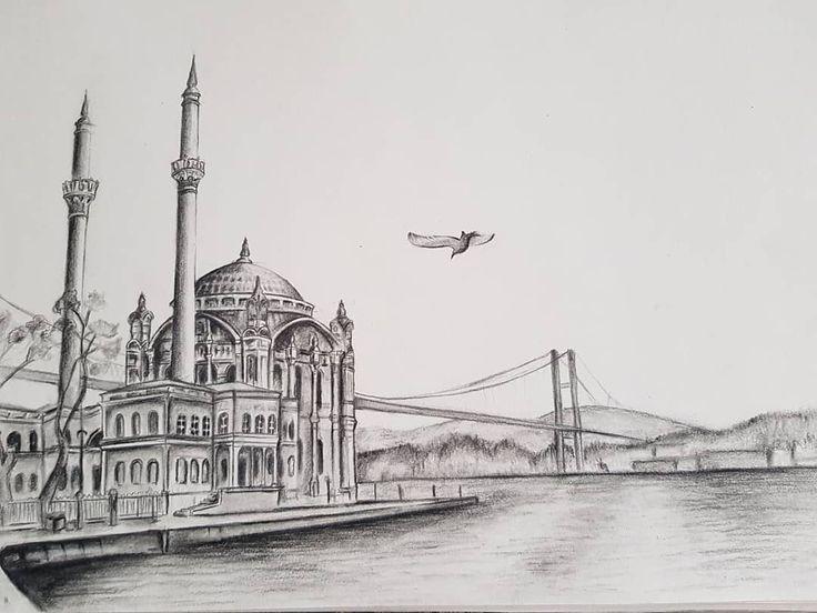 Istanbul mosque bosphorus, bosfor cami . . .#ista…