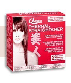 Quantum Thermal Straightener For Color Treated Hair - would like to try it one day.