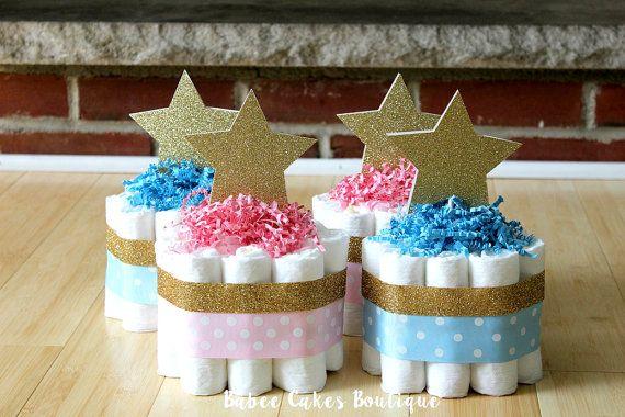 SET OF 4 Mini Twinkle Twinkle Little Star by BabeeCakesBoutique