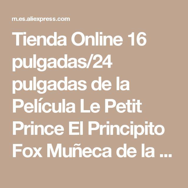Tienda Online 16 pulgadas/24 pulgadas de la Película Le Petit Prince El Principito Fox Muñeca de la Felpa Juguetes de Peluche de juguete de la educación para bebé | Aliexpress móvil