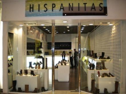 Hispanitas es una tienda de zapatos españoles . que se encuentra en España . Se vende zapatos de mujer.
