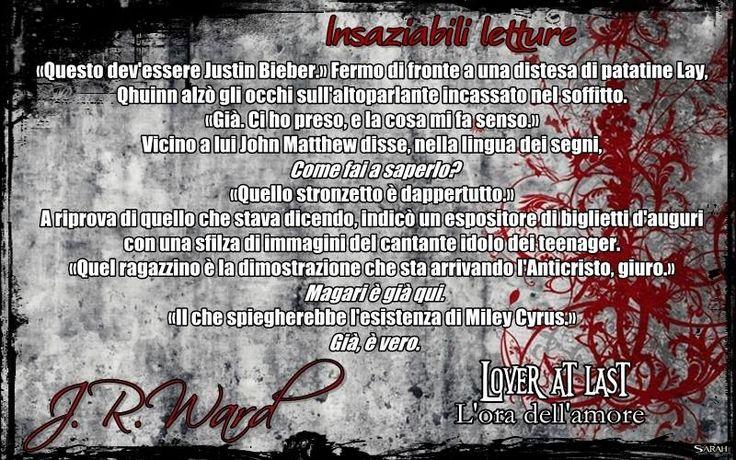 Lover at last/L'ora dell'amore - J.R. Ward