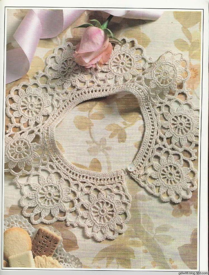 269 best Crochet Collars images on Pinterest | Crochet patterns ...