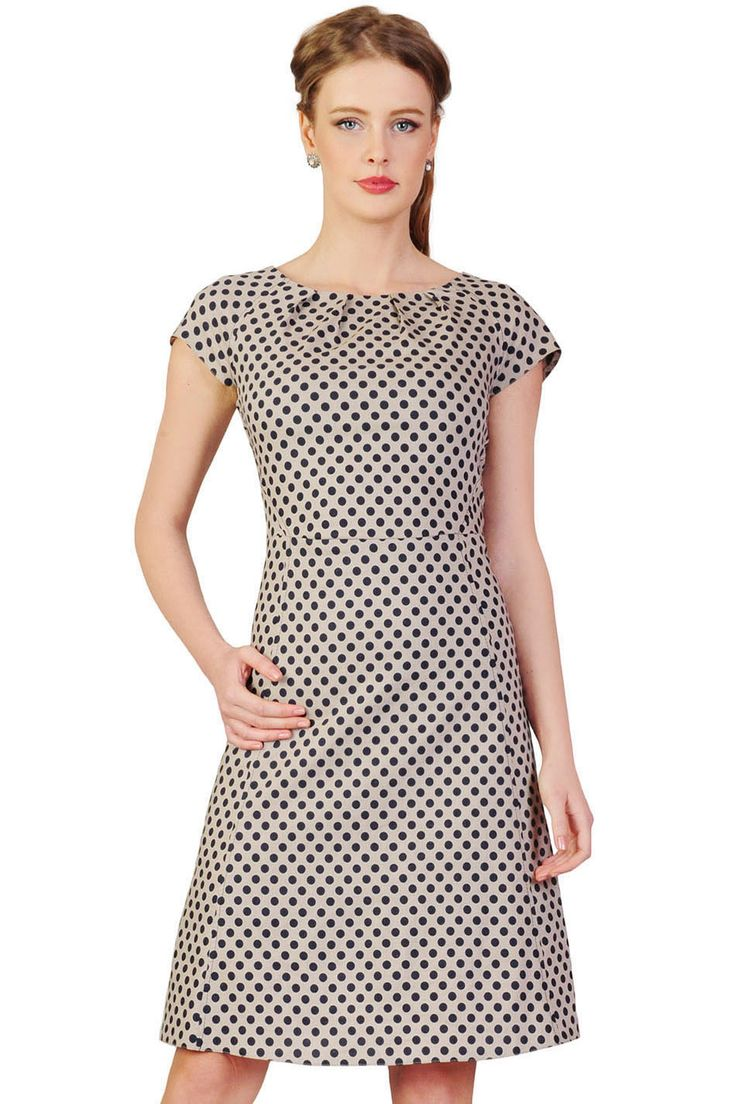 LA ROBE Sukienka Gwen beżowa
