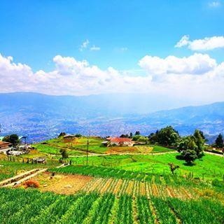Una hermosa vista de #Medellín desde las montañas del occidente de la ciudad.