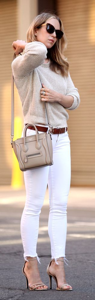 Neutral Summer Outfit by Brooklyn Blonde