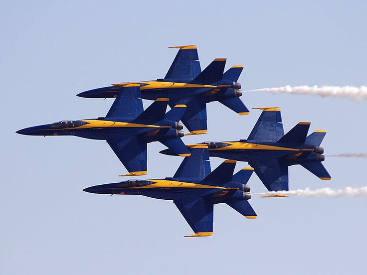 The Pensacola NAS-based Blue Angels are entertaining crowds in San Francisco this weekend as part of the Navy's Fleet Week festivities. The flight demonstration team could be seen, and heard, all a...