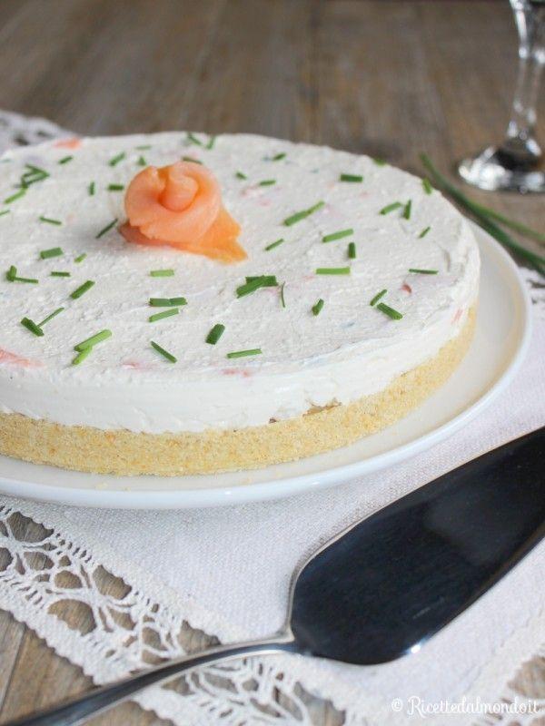 Come fare la cheesecake salata al salmone