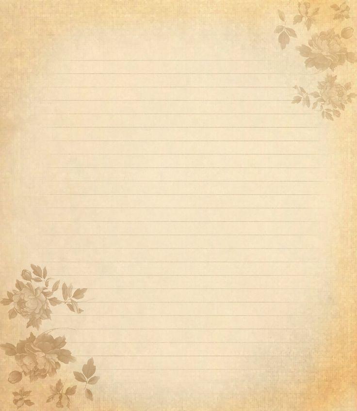 письмо старая бумага рисунок - Google Search