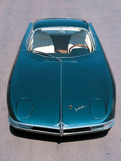 Beyond cool. 1963 Lamborghini 350 GTV