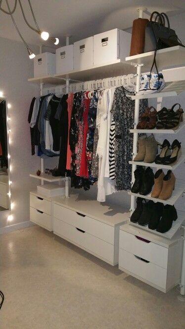 Ikea wardrobe chairs …