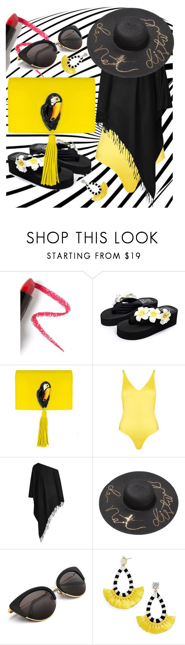 """Tucano"" by cinderella-slipper ❤ liked on Polyvore featuring Lapcos, Sunset Hours, Nach Bijoux, Topshop, Su Paris and BaubleBar"