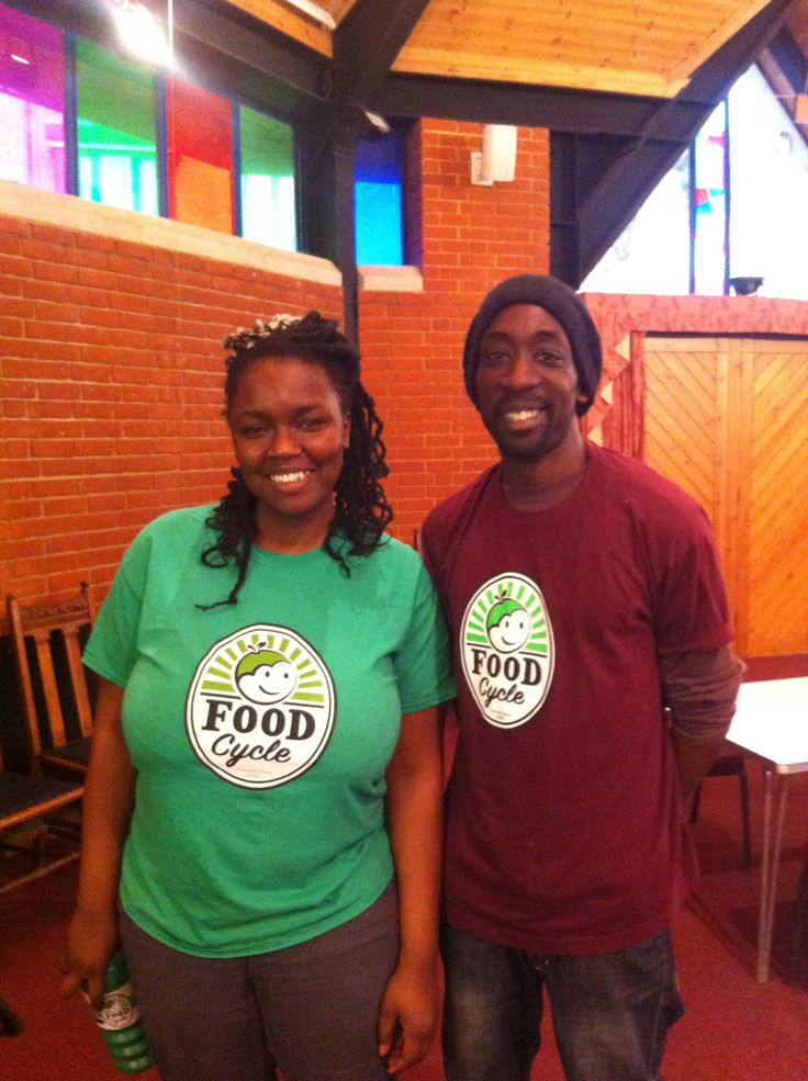 FoodCycle Wandsworth Kemi (l-r) and volunteer. Why not get involved? www.foodcycle.org.uk #FoodCycle #Wandsworth