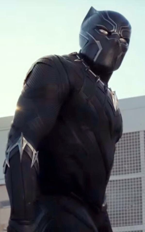 T'Challa/Black Panther. I'm so excited to see him!