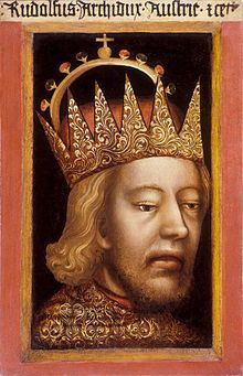 Rudolf IV. Herzog von Österreich, Herzog von Kärnten, Herzog der Steiermark, Graf von Tirol (1. November 1339 - 27. Juli 1365) – war der bedeutendste Vertreter des Hauses Habsburg im 14. Jahrhundert. Als geschickter Territorialpolitiker umwarb er Margarete Maultasch und erreichte 1363 kurz nach dem Tod Herzog Meinhards III. die Übertragung Tirols an Österreich.
