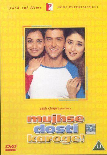 nice Mujhse Dosti Karoge [Blu-ray] (Bollywood Movie / Indian Cinema / Hindi Film)