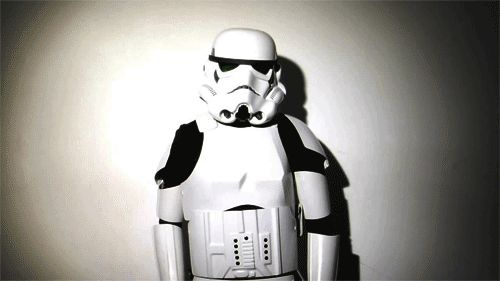 What Stormtroopers do behind Darth Vader's back | Via: Star Wars Daily | #starwars #starwarshumor #stormtrooper