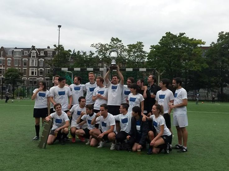 MVRDV wins Archicup 2015, a football tournament played between the largest architecture firms in Rotterdam
