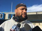 nice Alan Branch says he doesn't think his neck injury will keep him out of action.