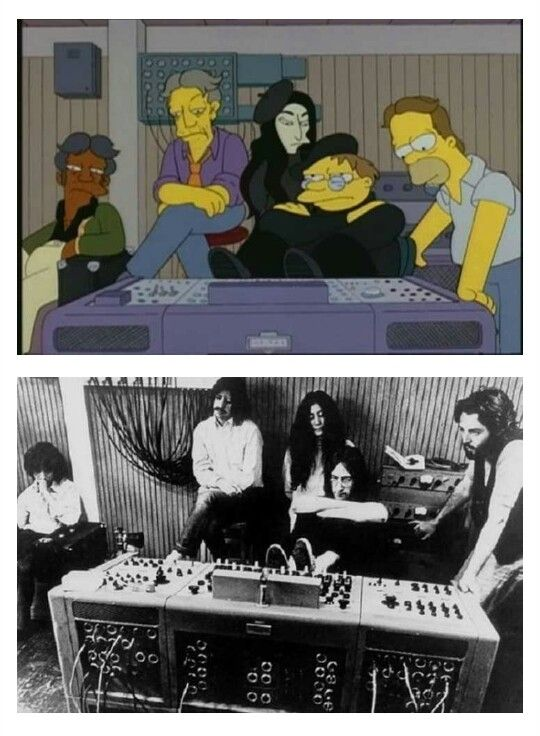 Beatles by Simpsons