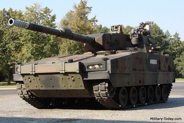 Modern Military Tanks | The Anders light tank is currently only a technology demonstrator
