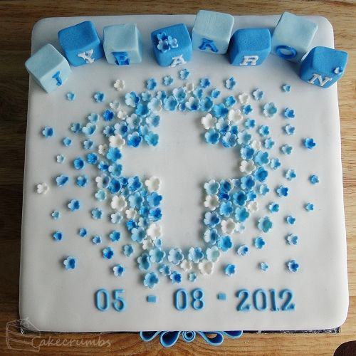 Jye's Christening Cake   Cakecrumbs