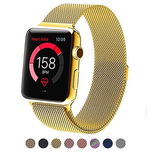 Surwin Apple watch Armband Apple watch band iwatch armband iwatch band Ersatzarmband für Apple watch 42 mm milanesisches Armband - http://uhr.haus/surwin/surwin-apple-watch-armband-38-mm-42-mm-aus-milanese
