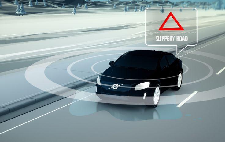 Volvo pone en circulación autos de prueba que comparten información sobre el estado de las vías. #tiendadellantas #motos #carro #seguridad #prevención #diseño #innovación #tecnología #motor #rueda
