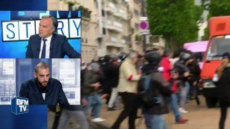 """Le journaliste interdit de couvrir la manifestation du 17 mai dénonce """"une décision politique"""" - en vidéos sur actu.orange.fr"""