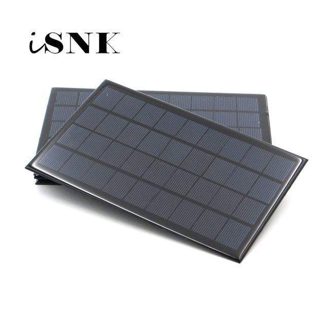 Solar Panel 6v 9v 18v Mini Solar System Diy For Battery Cell Phone Chargers Portable 2w 3w 4 5w 6w 10w 20w Sola Best Solar Panels Solar Cell Solar Power Panels