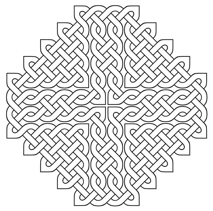 605 best Intricate Coloring images on Pinterest Coloring books - best of printable coloring pages celtic designs