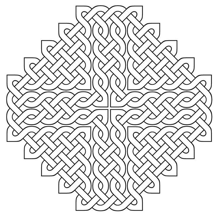 Celtic designs - Coloring Pages & Pictures - IMAGIXS