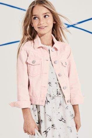 c347af98286 Girls Next Pink Denim Jacket (3-12yrs) - Pink  affiliate link   girls  pink   denimjacket
