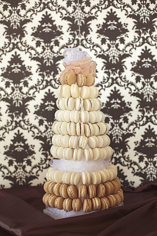 Piéce monteé de macarons..colors of coffee:-) ..weddind cake..