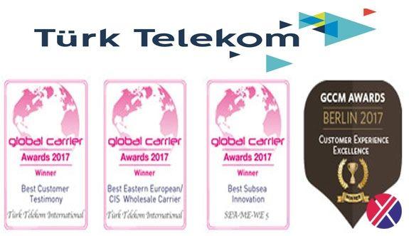 Fatma G. Kabasakallı :İSTANBUL-Türk Telekom International, The Global Carrier Awards 2017'de 'En İyi Doğu Avrupa/Bağımsız Devletler Topluluğu  Yakamoz Yakut culture and arts news