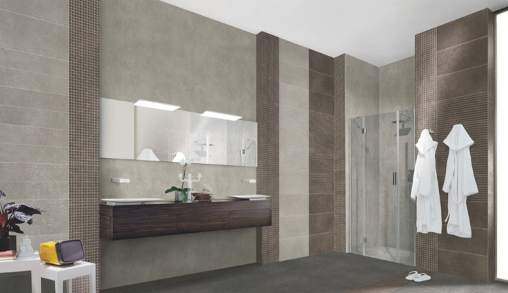 Aventis new from florida tile this minimalist concrete like porcelain tile for floors and - April latest tile design for kitchen ...