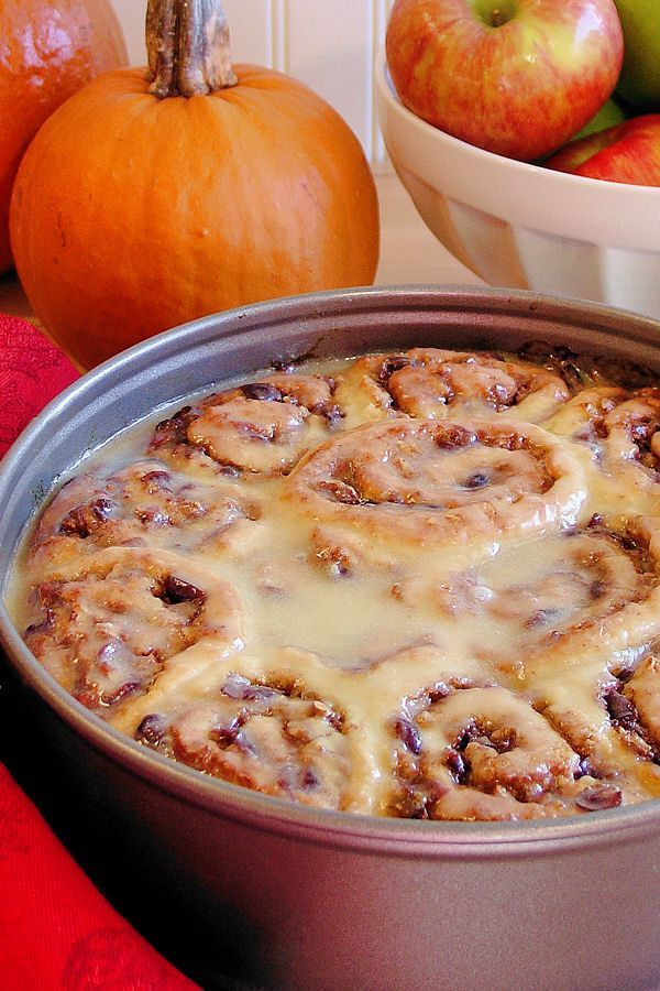 Best Ever No-Yeast Cinnamon Rolls | Thanksgiving Recipes | Pinterest