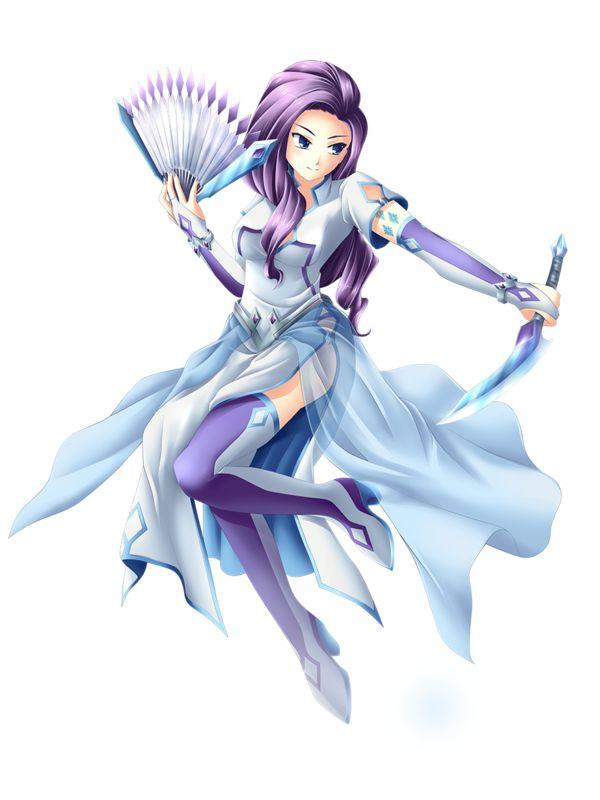 MLP FiM Humans - Rarity, Noble Assassin by Yatonokami.deviantart.com on @deviantART